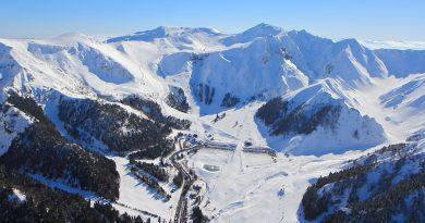 station ski massif central